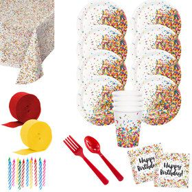 Sprinkles Deluxe Tableware Kit (Serves 8)