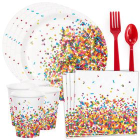 Sprinkles Standard Tableware Kit (Serves 8)