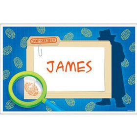 Spy Party Personalized Placemat (each)