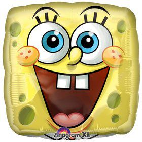 Square SpongeBob Balloon (each)