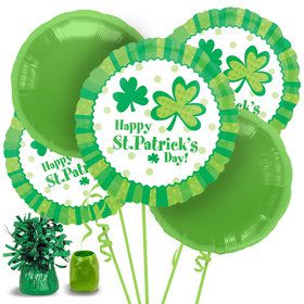 St. Patrick's Day Balloon Bouquet