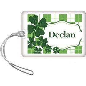 St. Patrick's Day Personalized Bag Tag (Each)