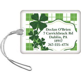 St. Patrick's Day Personalized Luggage Tag (Each)