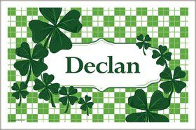 St. Patrick's Day Personalized Placemat (Each)