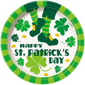 "St. Pat's Jig 9"" Plate (8 Count)"