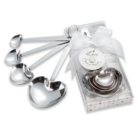 Stainless-Steel Measuring Spoons Baby Shower Favor