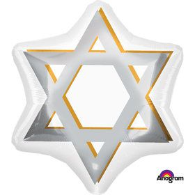"Star of David 21"" Balloon (Each)"