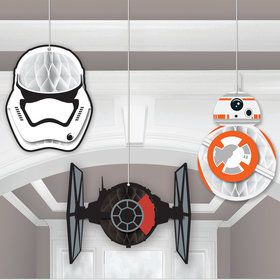 Star Wars 7 The Force Awakens Honeycomb Decoration