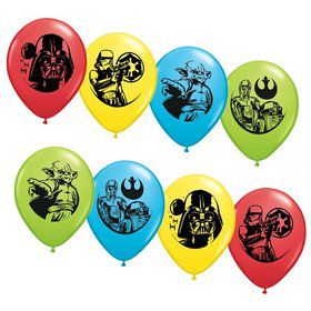 "Star Wars Asst. 12"" Latex Balloons (6 Pack)"