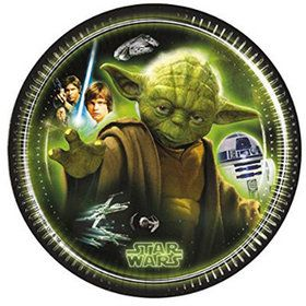 "Star Wars Classic 7"" Dessert Plates (8 Count)"