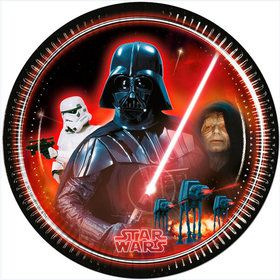 "Star Wars Classic 9"" Lunch Plates (8 Count)"