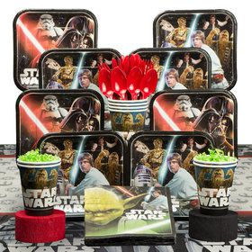 Star Wars Classic Deluxe Tableware Kit (Serves 8)