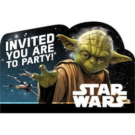 Star Wars Classic Invitations (8)