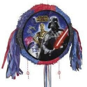 Star Wars Drum Pull Pinata (Each)