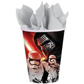 Star Wars EP Vll 9 oz Cups (8 Count)