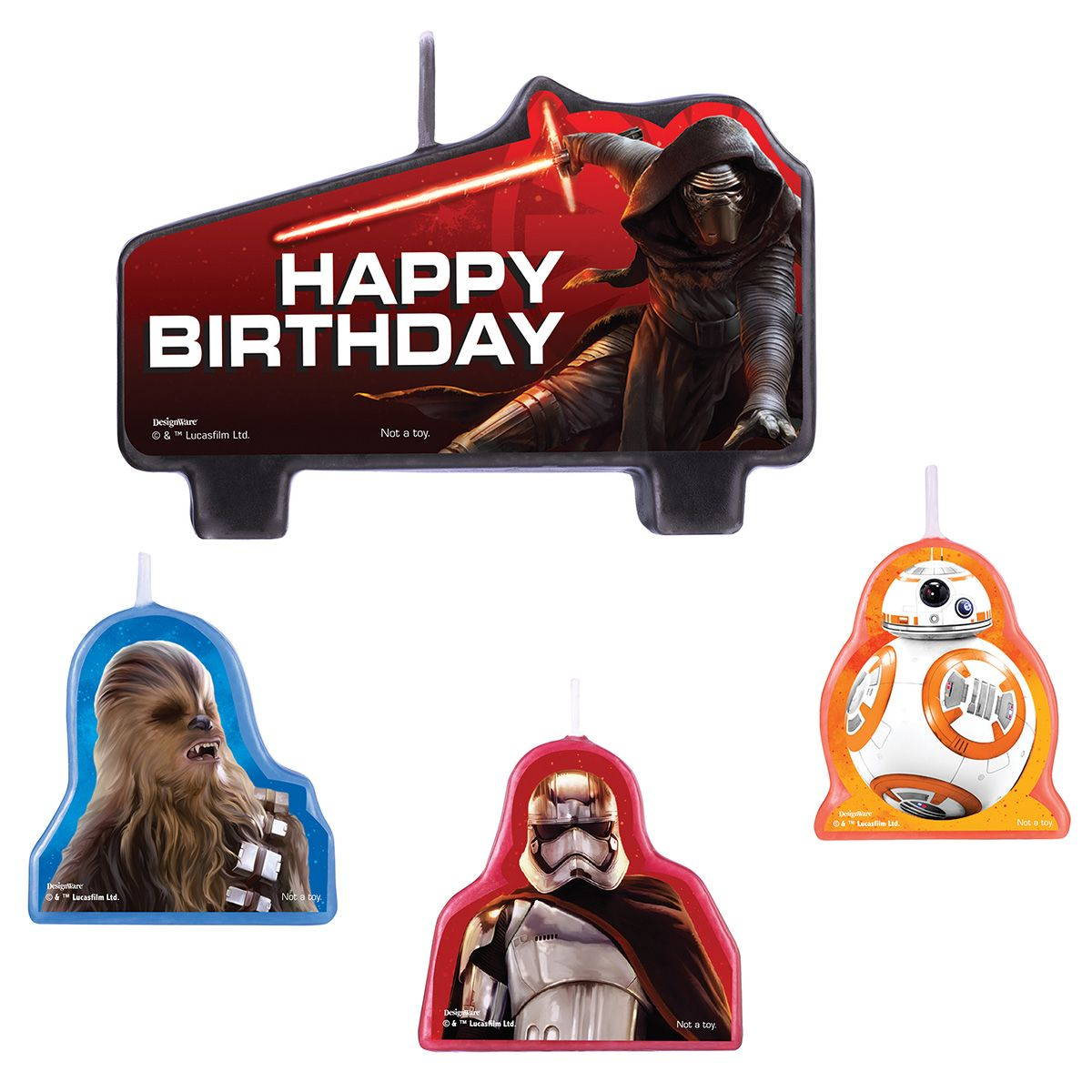 Star Wars Ep Vll Candle Set BB171506