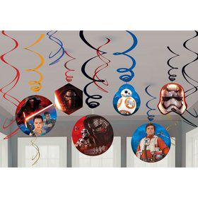 Star Wars EP Vll Hanging Swirl Value Pack