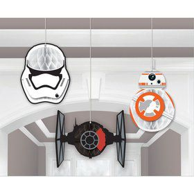 Star Wars EP Vll Honeycomb Decoration