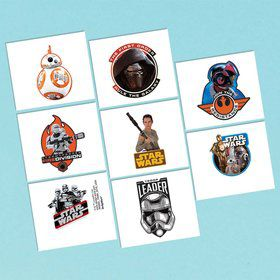 Star Wars EP Vll Tattoos (16 Pack)