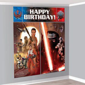 Star Wars EP Vll Wall Decorating Kit