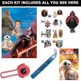 Star Wars Episode VII Deluxe Favor Kit (Each)