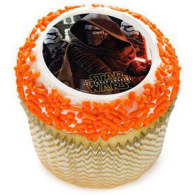 "Star Wars Episode VII - The Force Awakens 2"" Edible Cupcake Topper (12 Images)"