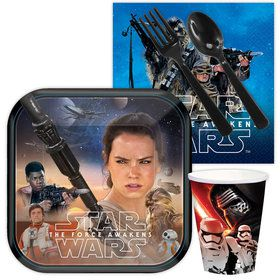 Star Wars Episode VII: The Force Awakens Standard Birthday Tableware Kit Serves 8