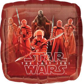 Star Wars Episode VIII Last Jedi Foil Balloon