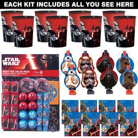 Star Wars Episode VIII: The Last Jedi Favor Kit (For 8 Guests)