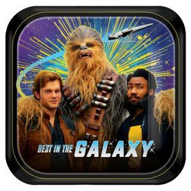 "Star Wars Hans Solo 7"" Cake Plates (8 Count)"