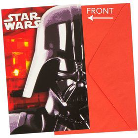 Star Wars Invitations & Envelopes (6 Pack)