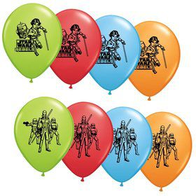 "Star Wars Rebels 12"" Asst. Latex Balloons (6 Pack)"