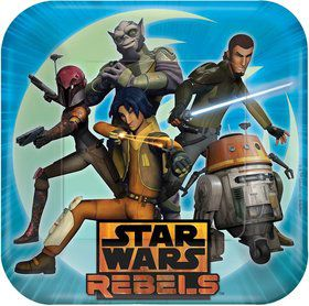 "Star Wars Rebels 9"" Luncheon Plates (8 Pack)"