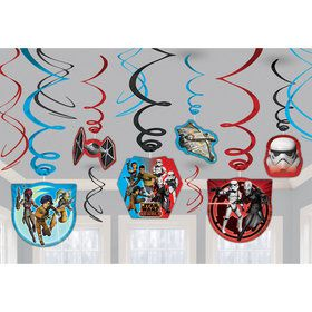 Star Wars Rebels Foil Swirl Hanging Decorations (Each)