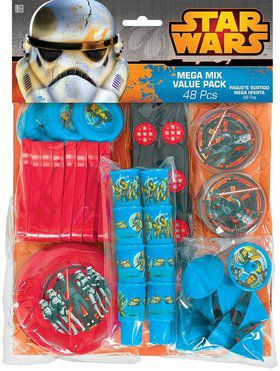 Star Wars Rebels Mega Mix Favor Pack (For 6 Guests)