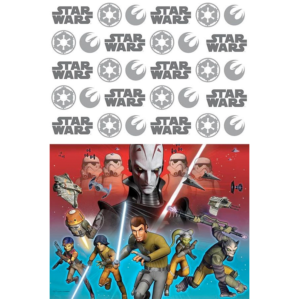 Star Wars Rebels Table Cover (Each) - Party Supplies BB571841