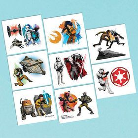 Star Wars Rebels Tattoos (16 Pack)
