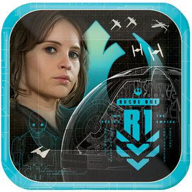 """Star Wars Rogue One 7"""" Cake Plate (8 Count)"""