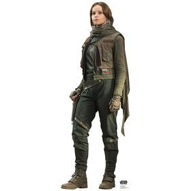 Star Wars Rogue One Jyn Erso Cardboard Standup
