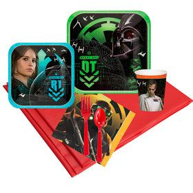 Star Wars Rogue One Standard Tableware Kit (Serves 8)