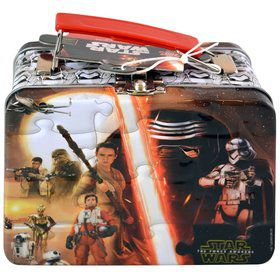 Star Wars Small Tin With Puzzle