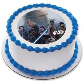 "Star Wars: The Last Jedi Resistance 7.5"" Round Edible Cake Topper (Each)"