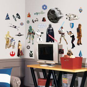 Star Wars Wall Decal Decoration (31 Piece)