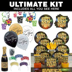 Stellar New Years Ultimate Tableware Kit Serves8