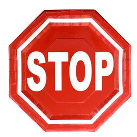 Stop Sign Plate (8)