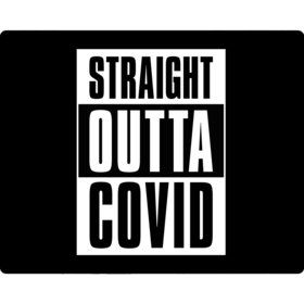 Straight Outta Covid Party Stickers (Sheet of 15)