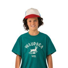 Stranger Things-Boys Dustin's Waupaca Shirt