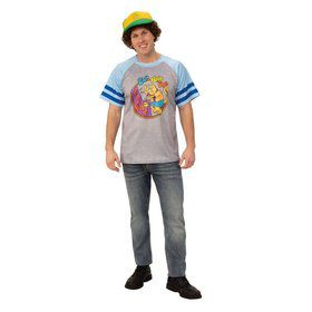 """Stranger Things Dustin's """"Arcade Cats"""" T Shirt Adult"""
