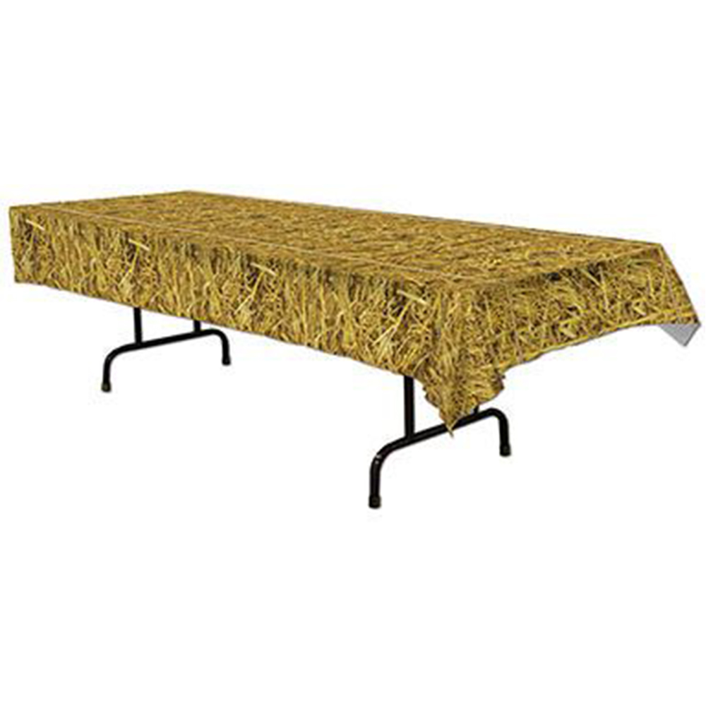 Straw Table Cover (Each) BB54533