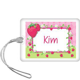 Strawberry Friends Personalized Bag Tag (each)